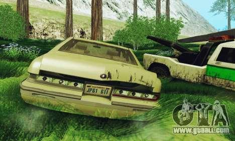 Buick Roadmaster Broken for GTA San Andreas right view