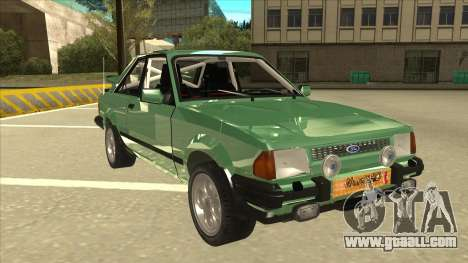 Ford Escort XR3 With Cosworth Spoiler for GTA San Andreas left view