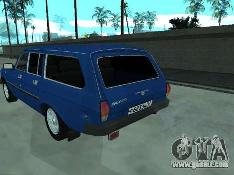 GAS 31022 for GTA San Andreas right view