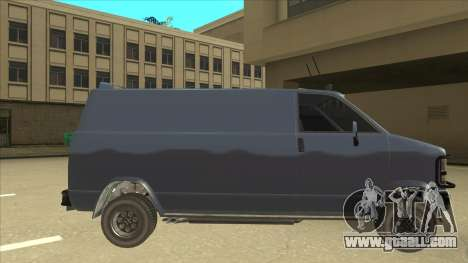 Clean TLAD Gang Burrito for GTA San Andreas back left view