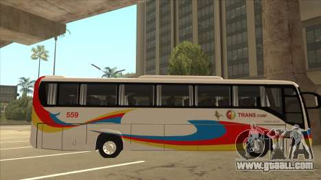 Kinglong XMQ6126Y - GL Trans 559 for GTA San Andreas back left view