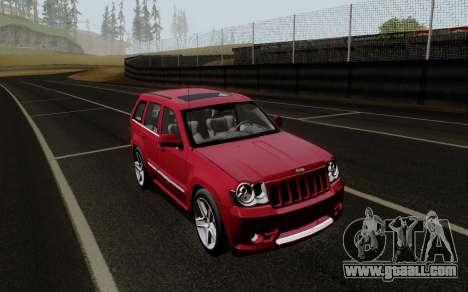 Jeep Grand Cherokee SRT10 for GTA San Andreas