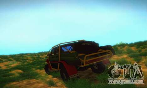 Uaz Patriot Pickup for GTA San Andreas right view