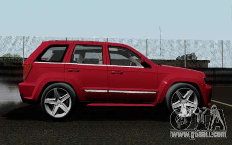 Jeep Grand Cherokee SRT10 for GTA San Andreas right view
