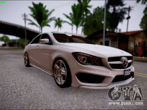 Mercedes-Benz CLA 250 for GTA San Andreas right view