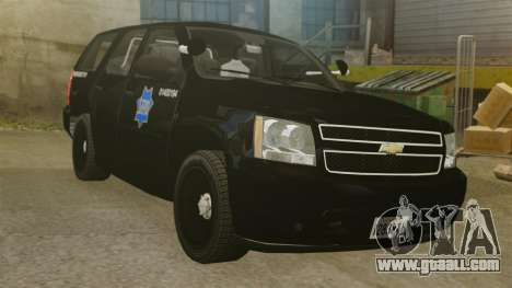 Chevrolet Tahoe 2010 PPV SFPD v1.4 [ELS] for GTA 4