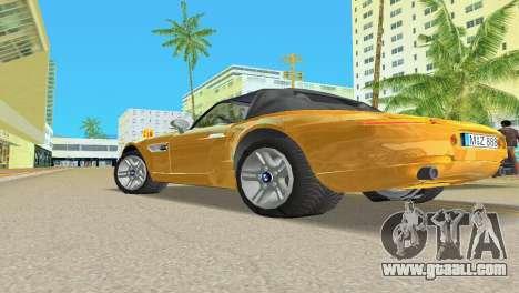 BMW Z8 for GTA Vice City wheels