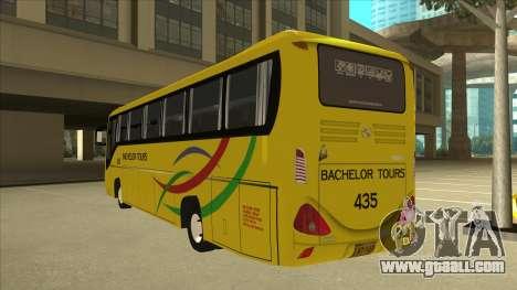Kinglong XMQ6126Y - Bachelor Tours 435 for GTA San Andreas back view