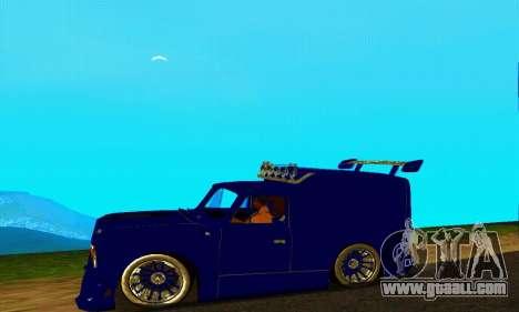 IZH 2715 Novosib Tuning for GTA San Andreas right view