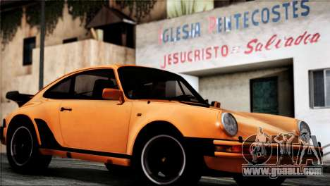 Porsche 911 Turbo 3.3 Coupe 1982 for GTA San Andreas right view