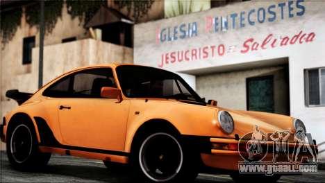 Porsche 911 Turbo 3.3 Coupe 1982 for GTA San Andreas right view