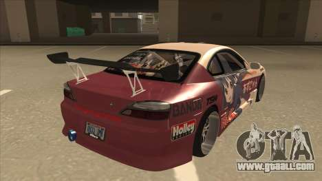 S15 K-ON Itasha for GTA San Andreas right view