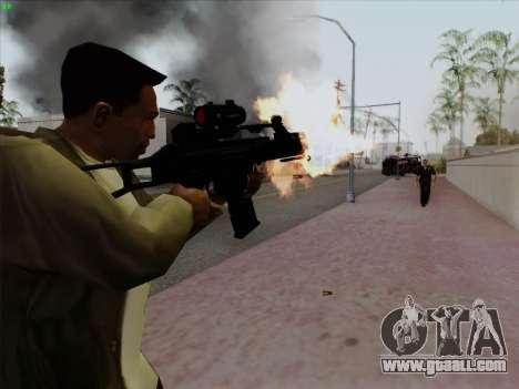 HK-G36C for GTA San Andreas second screenshot