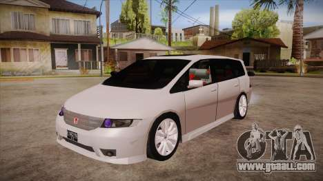 Honda Odyssey v1.5 for GTA San Andreas