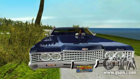 Mercury Monterey 1972 for GTA Vice City back left view