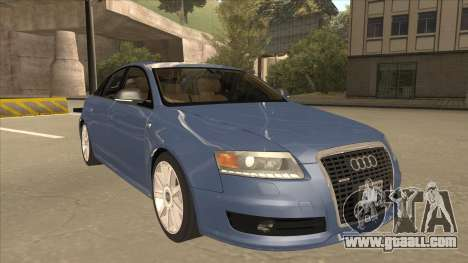 2010 Audi A6 4.2 Quattro for GTA San Andreas left view