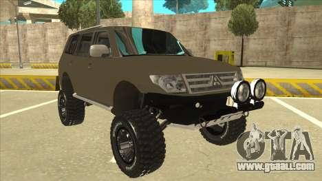 Mitsubishi Montero EDVARD [ERICK] for GTA San Andreas left view