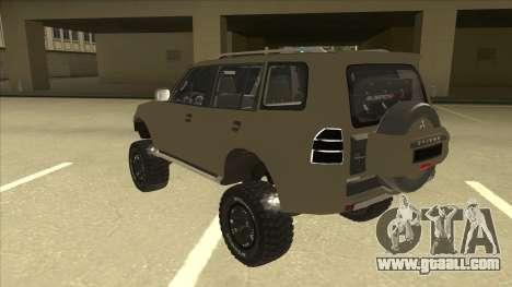 Mitsubishi Montero EDVARD [ERICK] for GTA San Andreas back view
