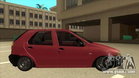 1997 Fiat Palio EDX Edit for GTA San Andreas back left view