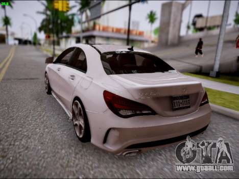 Mercedes-Benz CLA 250 for GTA San Andreas side view