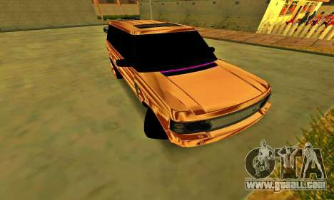 Land Rover Range Rover for GTA San Andreas back left view