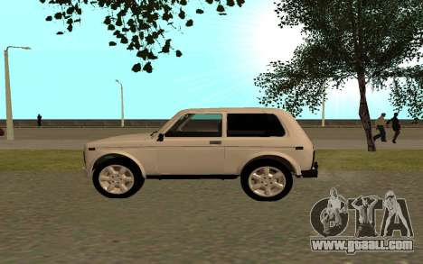 The Niva VAZ 21213 for GTA San Andreas left view