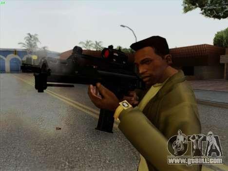 HK-G36C for GTA San Andreas third screenshot