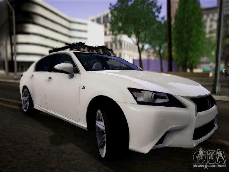 Lexus GS 350 For GTA San Andreas
