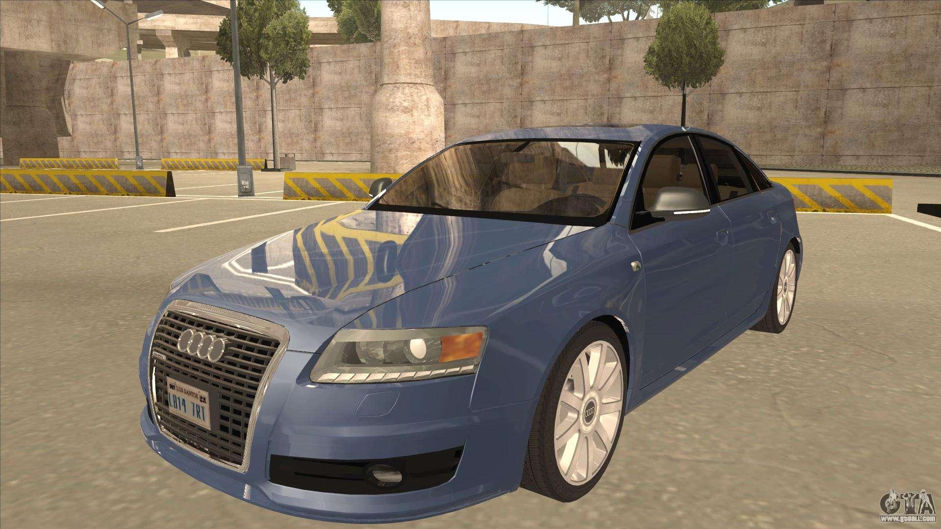 2010 Audi A6 4 2 Quattro For Gta San Andreas