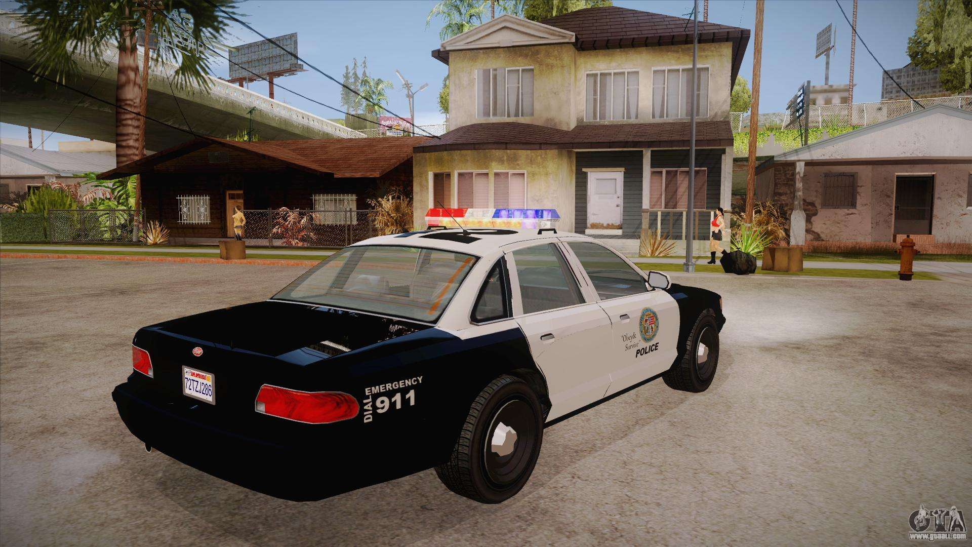 Vapid GTA V Police Car for GTA San Andreas Gta San Andreas Police Cars