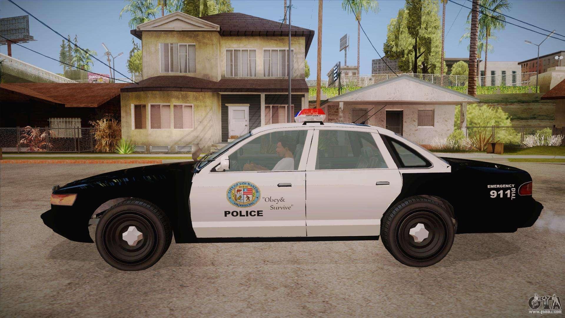 gta 4 secret police car Car Tuning