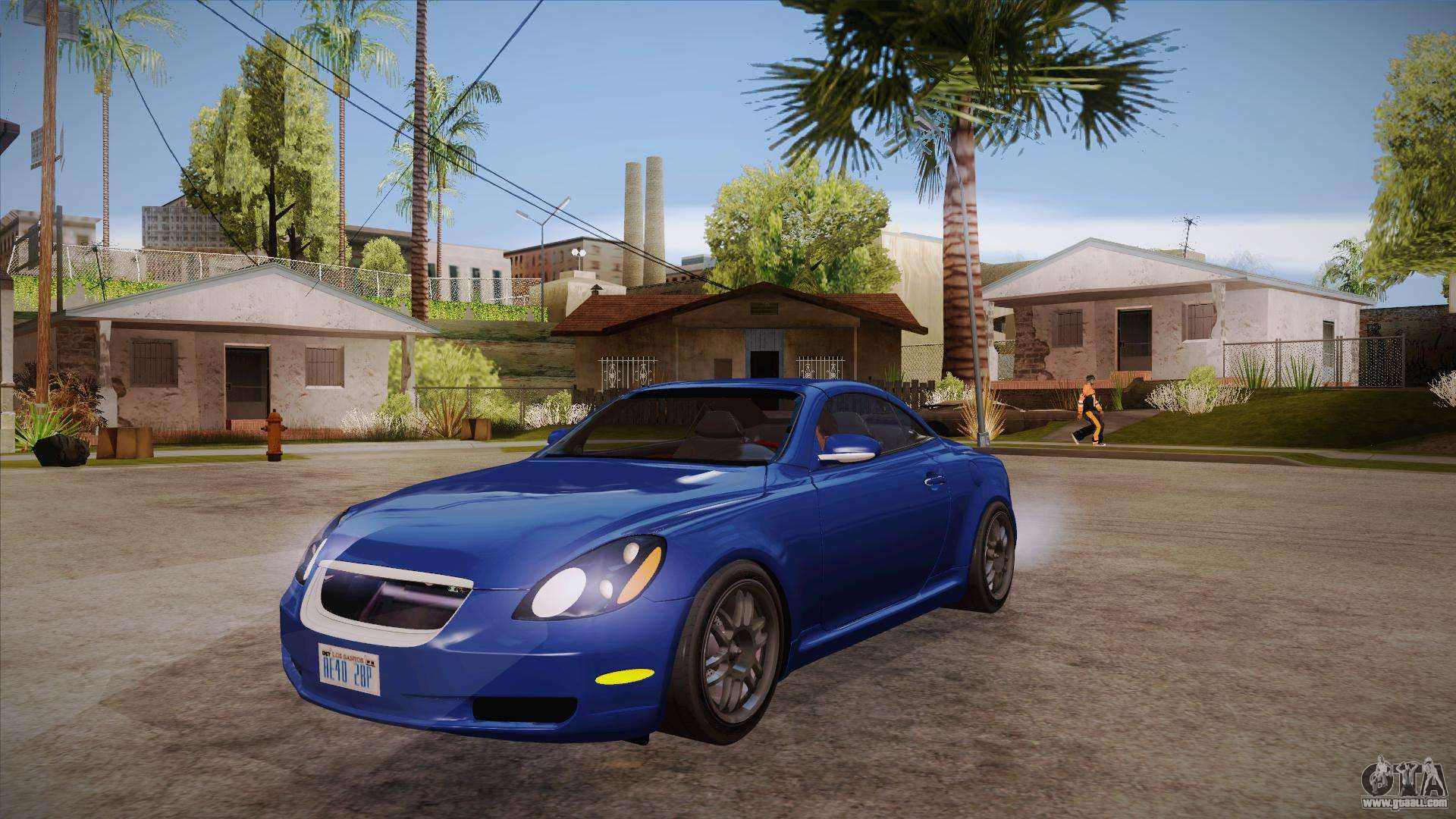 Lexus Sc430 2jz Gte Black Revel For Gta San Andreas