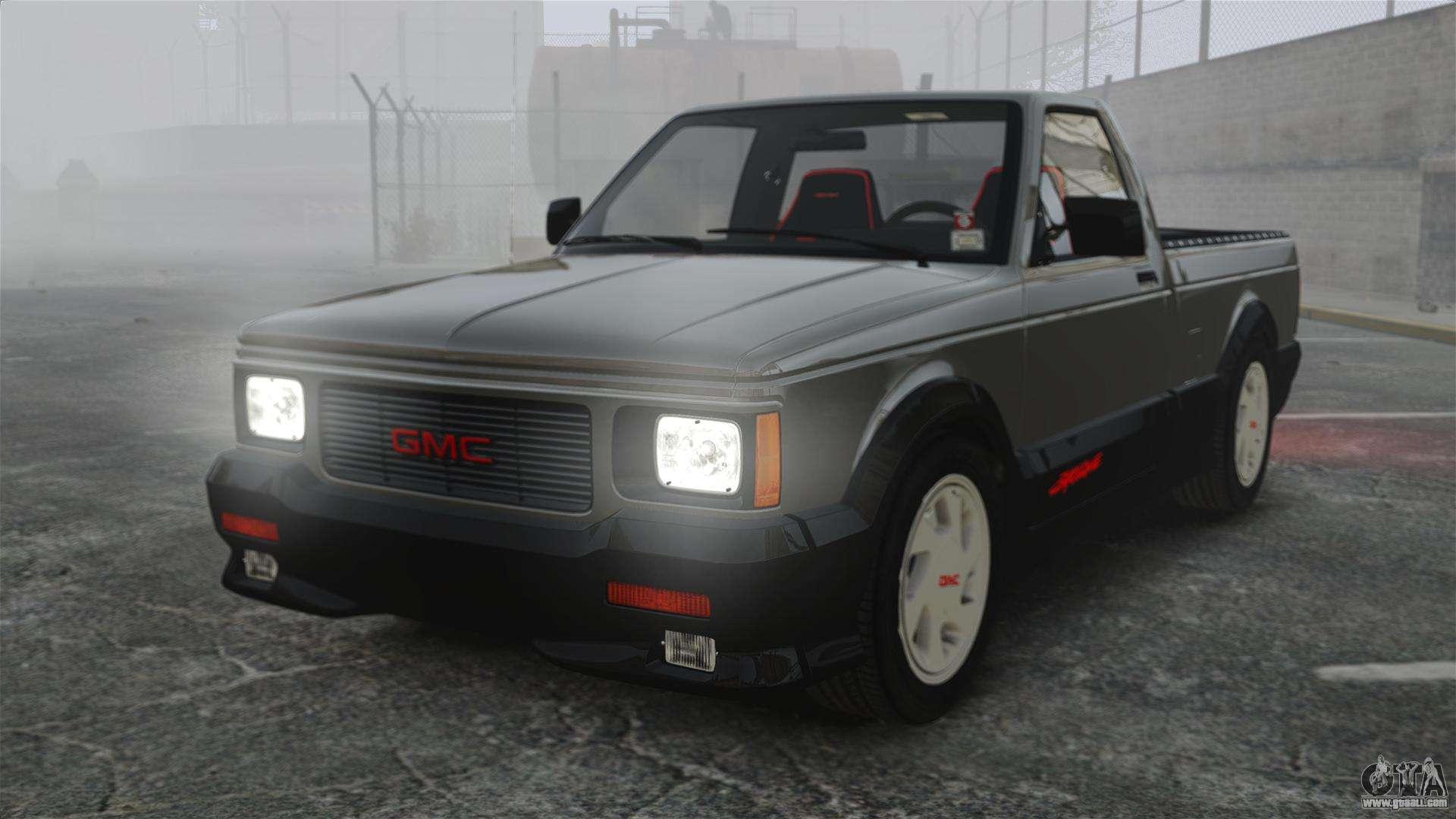 29923 Gmc Syclone 1992