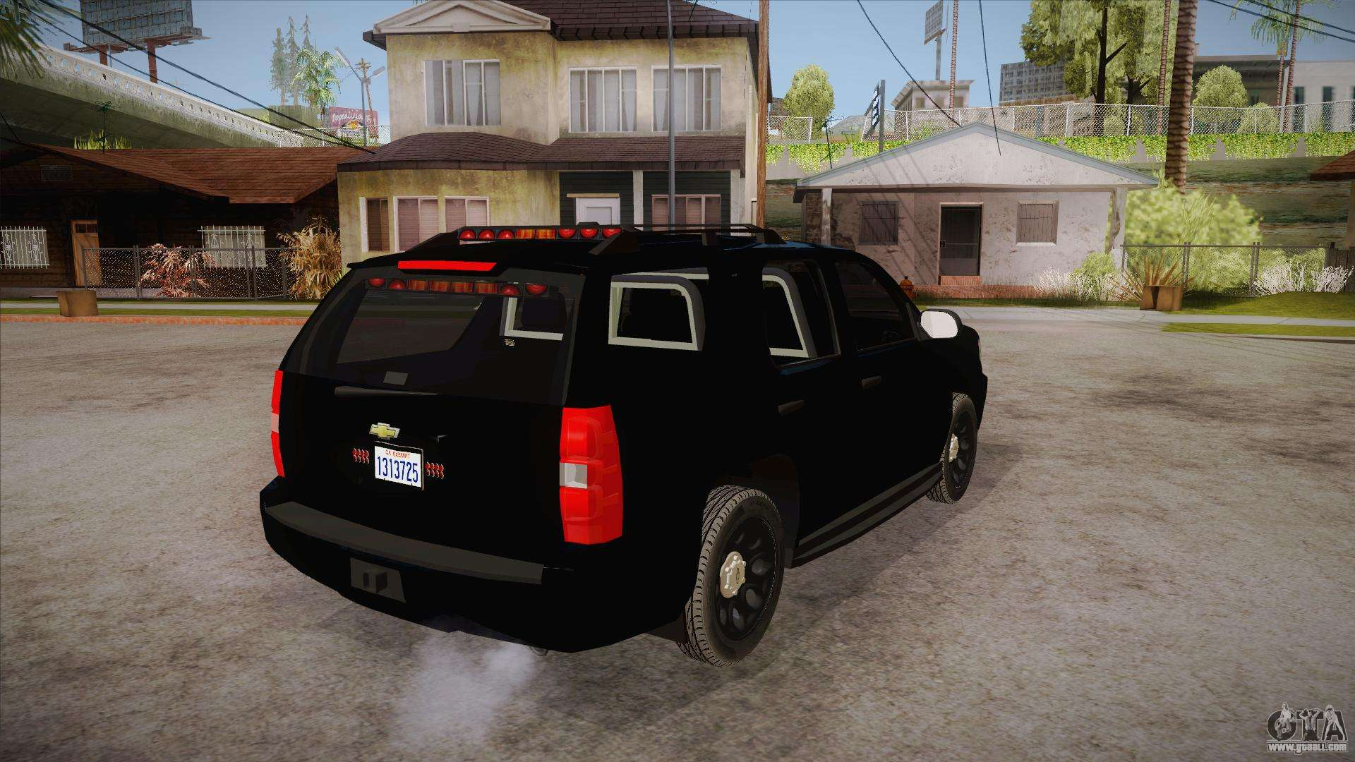 chevrolet tahoe ltz 2013 unmarked police for gta san andreas. Black Bedroom Furniture Sets. Home Design Ideas