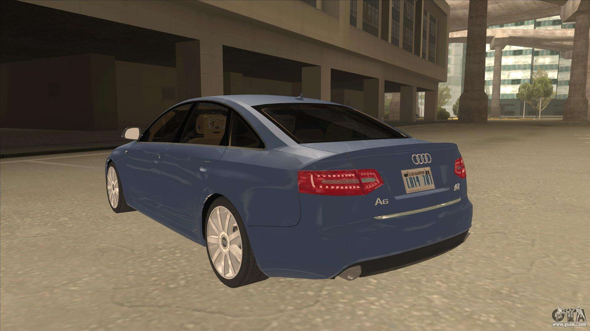 2010 Audi A6 4 2 Quattro For Gta San Andreas
