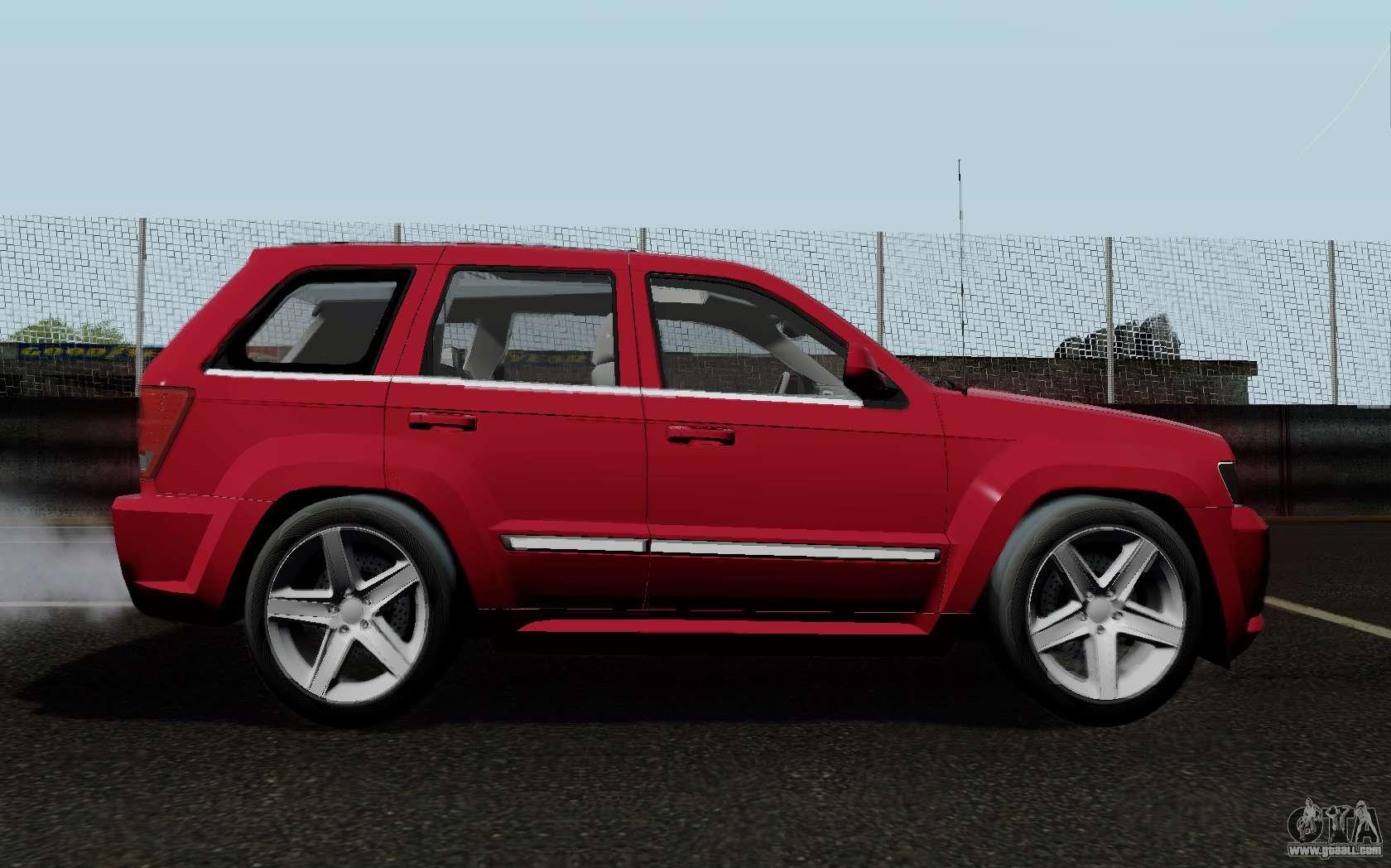 Jeep Grand Cherokee Srt10 >> Jeep Grand Cherokee SRT10 for GTA San Andreas