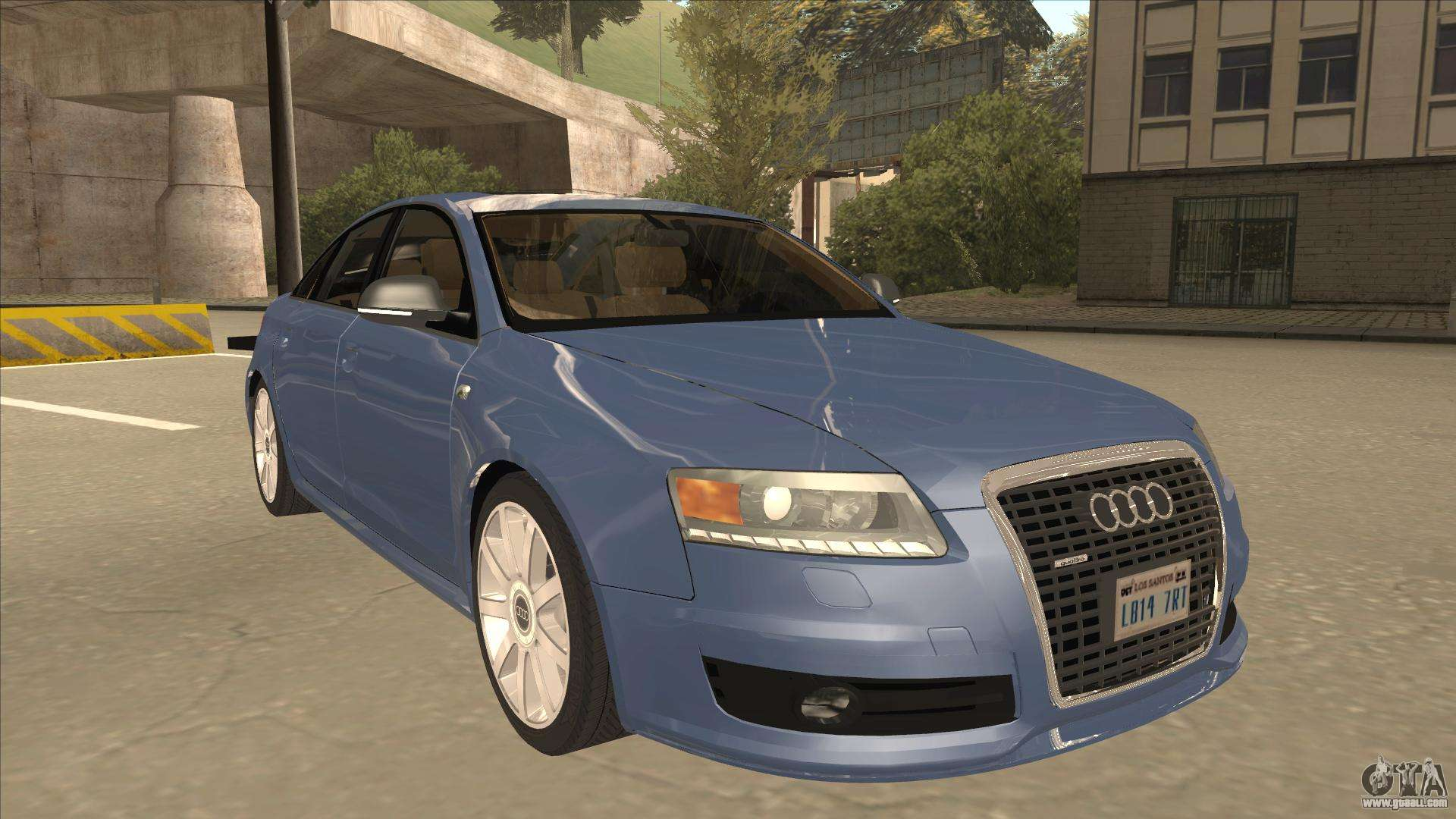 2010 audi a6 4 2 quattro for gta san andreas. Black Bedroom Furniture Sets. Home Design Ideas