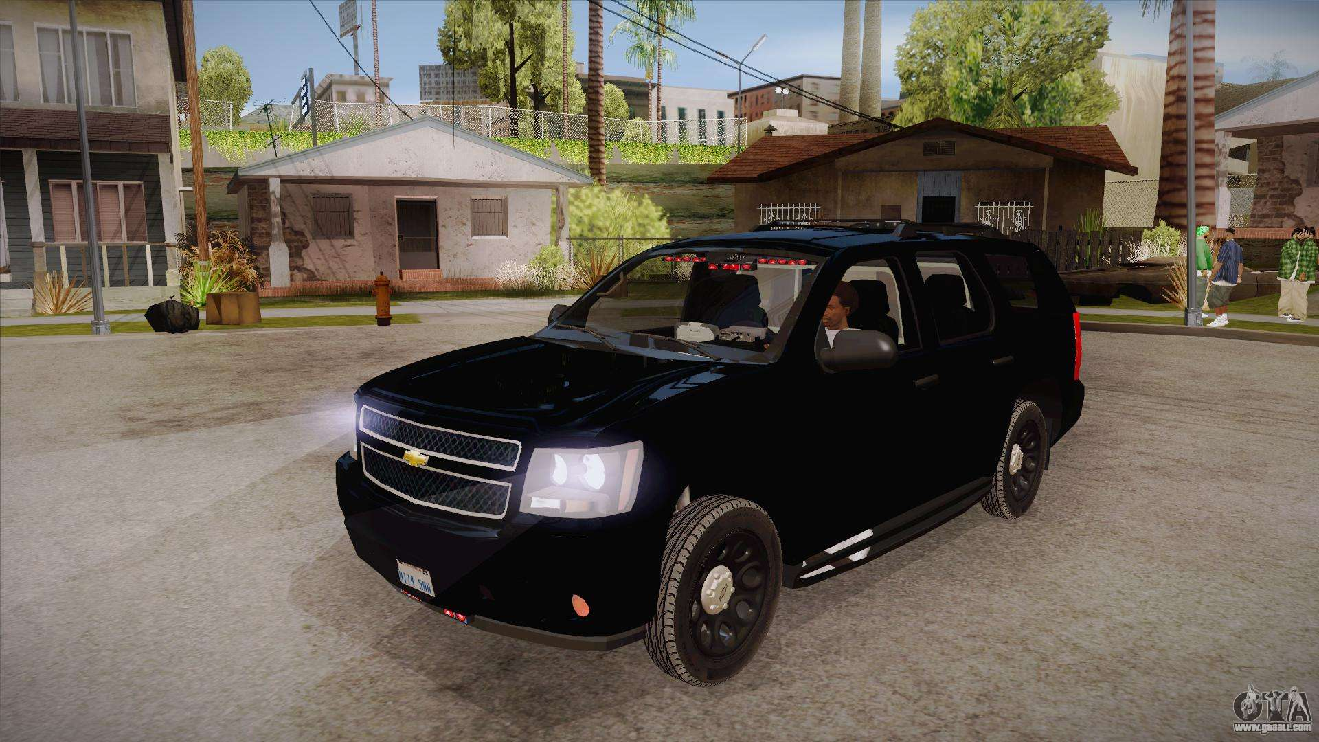 Chevrolet Tahoe LTZ 2013 Unmarked Police for GTA San Andreas
