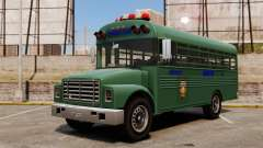 The prison bus, New York City