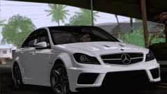 Mercedes-Benz C 63 AMG for GTA San Andreas