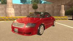 Audi TT Coupe BiMotor Black Revel for GTA San Andreas