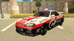 Nissan Skyline BNR34 GT4 Pace Car for GTA San Andreas