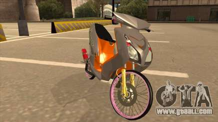 Bikes Gta Yamaha Mio Soul for GTA San