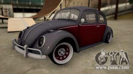 Volkswagen Beetle for GTA San Andreas