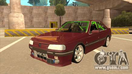 Peugeot 405 ami16 X4 for GTA San Andreas
