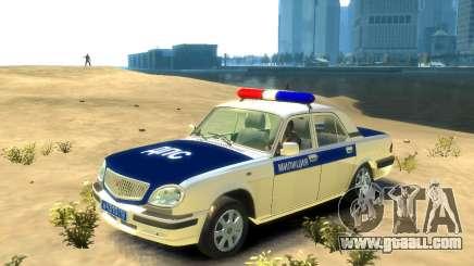 GAZ 31105 DPS for GTA 4
