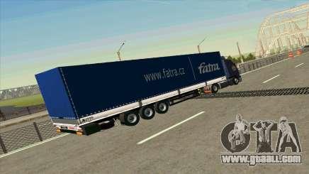 Kogel trailer for Volvo FM16 for GTA San Andreas