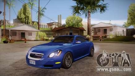 Lexus SC430 2JZ-GTE Black Revel for GTA San Andreas