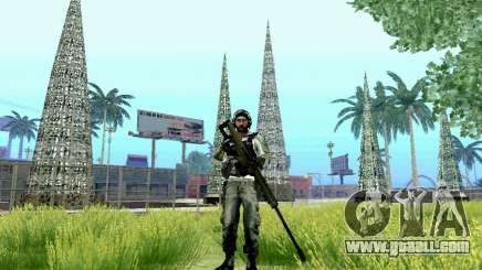Barrett M82 from Battlefield 4 for GTA San Andreas