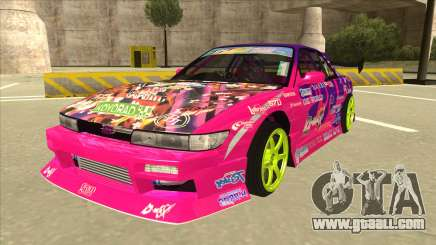 Nissan Silvia S13 Team Burst for GTA San Andreas